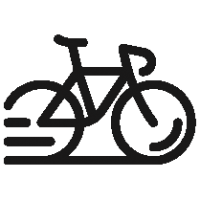 Outlined Bike